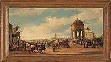 José Palomar Sevilla 1929 - 2001 View of Seville