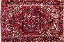 A wool Oriental carpet, from the second third of the 20th Century