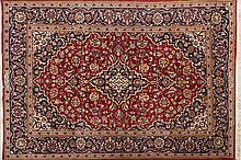 Dos alfombras orientales en lana, del siglo XX