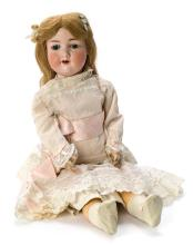 German walking doll in bisque by Armand Marseille, late 19th Century