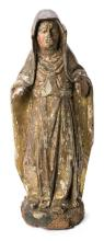 Spanish School, 16th Century  Saint, probably St. Clare of Assisi