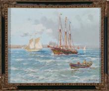 Francesc Hernández Monjo Maó 1862 - Barcelona 1937 Ships