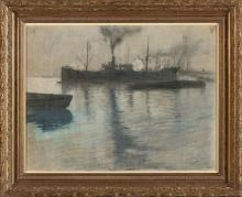 Pedro Ribera Madrid o Lisboa 1857 - Ciboure 1949 Port