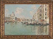 Raffaele Tafuri Salerno 1857 - Venecia 1929 The Grand Canal, Venice
