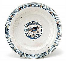 Talavera ceramic plate, late 17th Century-first half of the 18th Century Series