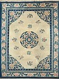 Chinese wool rug, second third of the 20th century, , , , , , 370x279 cm