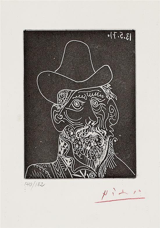 Pablo Picasso, Málaga 1881-Mougins 1973 ,