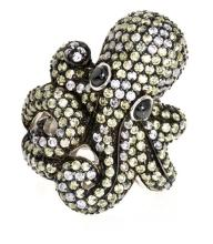 Octopus-shaped ring