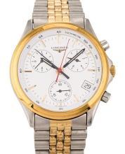 Longines, Flagship, a gentleman's steel wristwatch