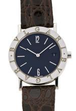 Bulgari, Classic, a steel wristwatch