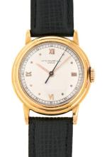 Patek Philippe, a gentleman's gold wristwatch
