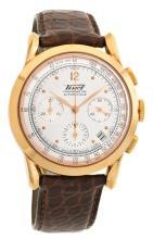 Tissot, a gentleman's gold wristwatch