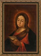 French or Italian School, 18th century  The Virgin Mary