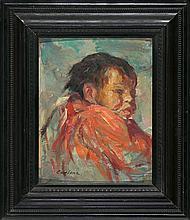 Joan Cardona Barcelona 1877 - 1957 A child