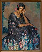 Joan Cardona Lladós Barcelona 1877 - 1957 A young lady