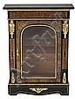 """A Napoleon III French """"Mueble d'Appui. Ebonized wood with brass, carey and gold-plated bronze boulle marquetry. Third quarter of the 19"""
