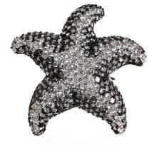 Starfish-shaped ring