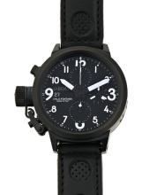 U-Boat, Flightdeck, gentleman's steel wristwatch