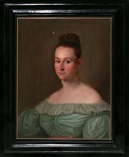Spanish school, probably Andalusian, circa 1840  Female portrait