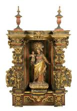 Spanish school, first half of the 18th century  The Virgin and Child