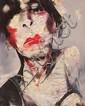 Lita Cabellut Barcelona 1961 Sin título Técnica mixta sobre lienzo