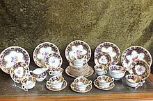 Absolutely stupendous Royal Worcester tea set hand