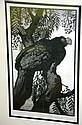 Lionel Lindsay, woodcut, 'Prince Albert's
