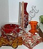Various glassware incl. early art glass, ashtray,