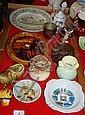 Various Australiana incl. plates, mugs, vases,