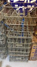 5 x DFNC & Co wire bottle crates