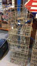 6 x DFM & Co vintage bottle crates