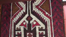 Persian baluch rug, hand knotted, pure wool, 200 x 100cm