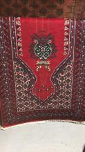 Persian rug, baluchi design, pure wool, hand made 208 x 110cm. Note: recently purchased for $490.00