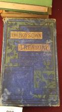 Book: 'The Boy's Own Treasury of Sports & Pasttimes', by the Rev. J.G. Wood, J.H. Pepper, C.H. Bennett, T. Miller & others, with upwards of 400 illustrations, published by George Routledge & Sons, London, undated 19thC