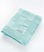 Alek & Luka baby blanket, 100 x 80cm, aqua/mint blue in colour, 20 available (original RRP $49.99 each) (sold as one lot of 20)