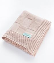 Alek & Luka Luxe kids linen baby blankets, dusty rose pink, 100 x 80cm, (original RRP $49.99 each), 20 pieces, (sold as one lot of 20)