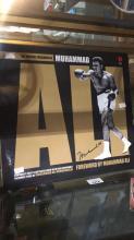 Hardback collectable Muhammed Ali book