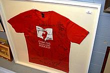 Framed T-shirt from the Dymocks Book Lovers