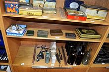 6 vintage tins incl. 1 with the Duke of Gloucester