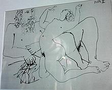 Pablo Picasso (1881-1973), 'Bacchante IV',