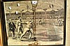 Original antique engraving Melbourne Cricket