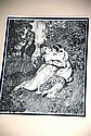 Norman Lindsay framed print, well presented in