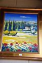Jeremy Delacre oil on canvas, French landscape