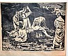Bernard Rice (1900-1998), woodcut on rice paper,