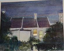 Frederick Bates, watercolour 'North Sydney