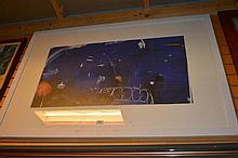 Brett Whiteley, offset lithograph 'The Balcony 2'