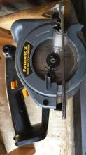 Panasonic cordless circular saw (minus the battery). Model number ey3503, comes with blade, charger and case