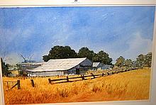 Ian McKenzie, 'The Golden Earth', watercolour,