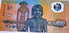 Commemorative Australian $10 polymer note,