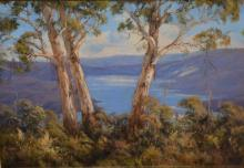 Patricia Murphy, 'A Glimpse of Blowering Dam',